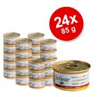 Schesir Natural Savings Pack 24 x 85 g - Pure Salmon