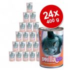 24 x 400 g Smilla Fish Pot Savings Pack - Tuna with Vegetables