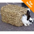 Grass House with two entrances - 28 x 18 x 15 cm (LxWxH) - Small Pet Cage Accessories