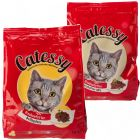 Catessy Dry Cat Food Adult - Mixed Pack - 1 kg Poultry Mix + 1 kg Hearty Mix