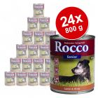 Rocco Senior Value Pack 24 x 800 g - Rocco Senior Poultry & Oats