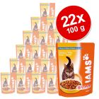 Iams 22 x 100 g Saver Pack - Chicken in Gravy