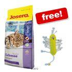 400 g Josera Cat Food + Scrawly Boy Toy Free! - Carismo (400 g)
