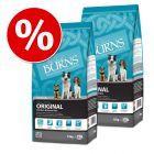 Burns Dry Food Economy Packs - Adult Original Fish & Brown Rice: 2 x 15 kg