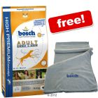 15 kg Bosch Dry Dog Food + Microfibre Towel Free! - Light (12.5 kg)