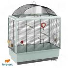 Ferplast Bird Cage Palladio 04 - Base White, Bars Black