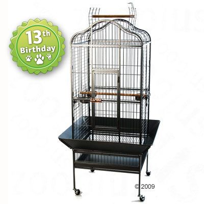 Parrot Cage Noble - antique