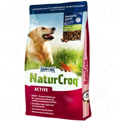 Happy Dog NaturCroq Active – Sparpaket 2 x 15 kg