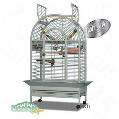 Montana Bird Cage New Jersey for Parrots - antique grey