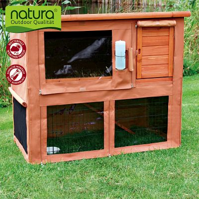 Cover for Trixie Natura Single Rabbit Hutch & Run - Cover for Trixia Natura Single Rabbit & Run, 104 cm