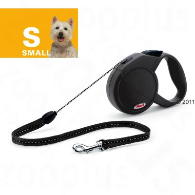 Dog Lead Flexi Classic Long Small - 7m - red