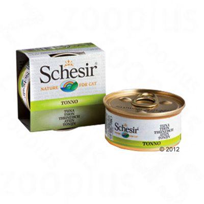 Schesir in Broth 6 x 70 g - Chicken Fillet & Sea Bream