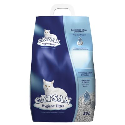 Large Bag Catsan Hygiene Cat Litter - 20l