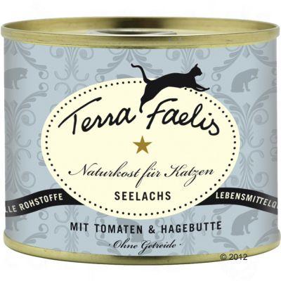 Terra Faelis Fish Menus 6 x 200 g - Pollack, Tomatoes & Rosehips