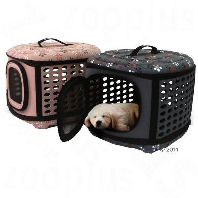 Mascotas - Bolso plegable y ovalado para perros Molly - - Terracotta