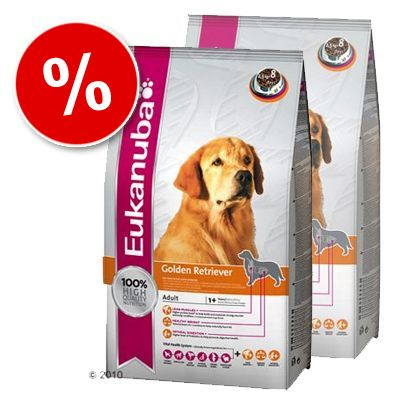 Eukanuba Breed Golden Retriever - Economy Pack: 2 x 12 kg