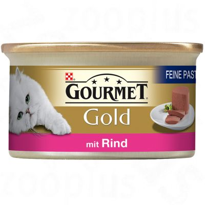 Gourmet Gold Pâté Recipes 12 x 85g - Duck & Spinach