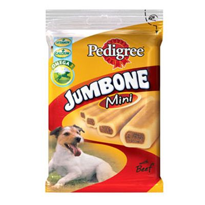 Pedigree Jumbone Mini - Beef - 180g (4 Pieces)