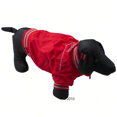Rodney Dog Jacket Rio Red - Size M: 24 cm back length
