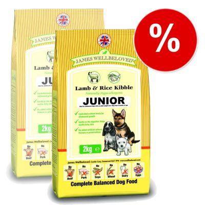 James Wellbeloved Complete Junior Lamb & Rice - Economy Pack: 2 x 15 kg