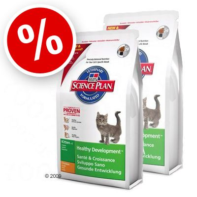 Science Plan Kitten Healthy Development with Chicken - Economy Pack 2 x 10 kg