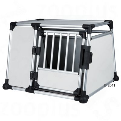 Cage de transport pour chien en aluminium Trixie- L 93
