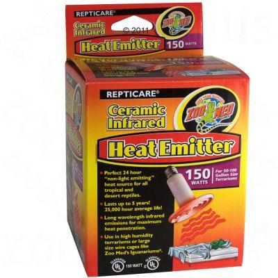 Ampoule chauffante en céramique Zoo Med Ceramic Heat Emitter- 150 watts
