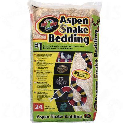 Substrat pour serpent  Aspen Snake Bedding de Zoo Med- 3 x 26,4 L