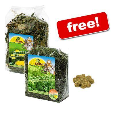 JR Farm Coarse Feed Dandelion + Parsley + Clover Free! - 3 products
