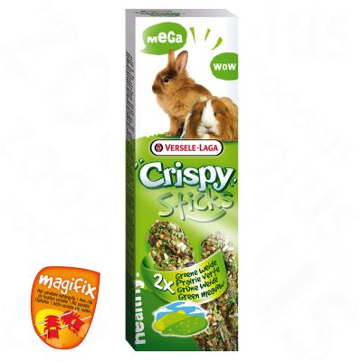 Crispy Sticks – Green Meadow - Saver Pack: 2 x 2 sticks 70 g each