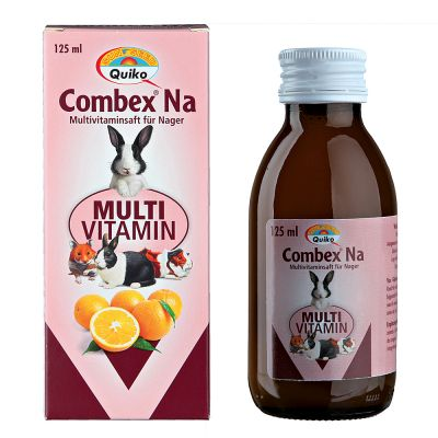 Combex Na Preparation multivitaminee pour rongeur et lapin - 125 mL