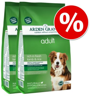 Arden Grange Dog Food Economy Packs 2 x 12kg - Senior Chicken & Rice
