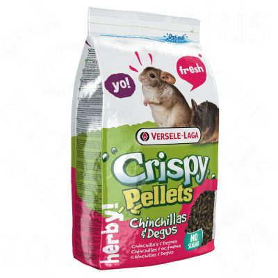 Crispy Pellets pour chinchilla & octodon - 1 kg