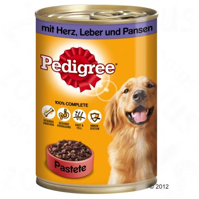 Pedigree Adult Classic 12 x 400g - with 3 poultry varieties