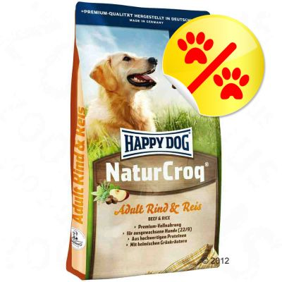 Bonuspack Happy Dog NaturCroq