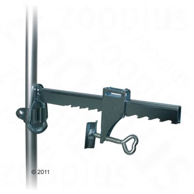 Wall Clamp - Clamp & Telescoping Rod