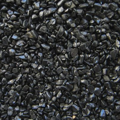 Naturally Coloured Gravel - black - Economy Pack: 3 x 5 kg