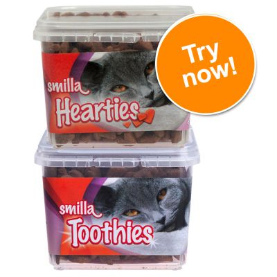 Smilla Hearties & Smilla Toothies Mixed Trial Pack - 2 x 125g