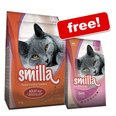 3 x 4kg Smilla + 1.8kg Duck with Potato & Orange Free!* - Kitten (3 x 4kg)