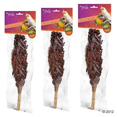 JR Farm a�pis de sorgho pour rongeur et oiseau - 3 friandises (rouge)