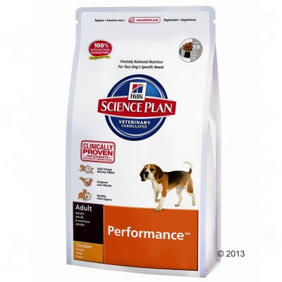 Hill's Science Plan Adult Performance - Chicken - Economy Pack: 2 x 12kg