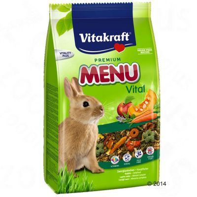 Vitakraft Menu Vital pour lapin nain - 2 x 5 kg