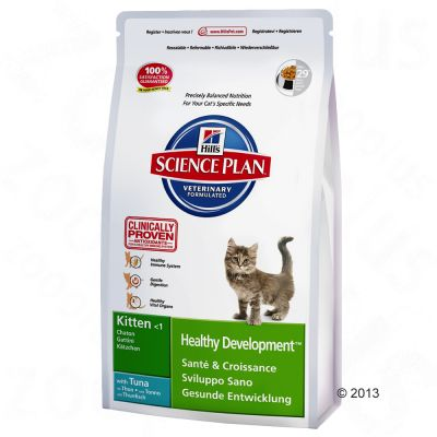 Hill's Science Plan Kitten Healthy Development - Tuna - Economy Pack: 3 x 2kg