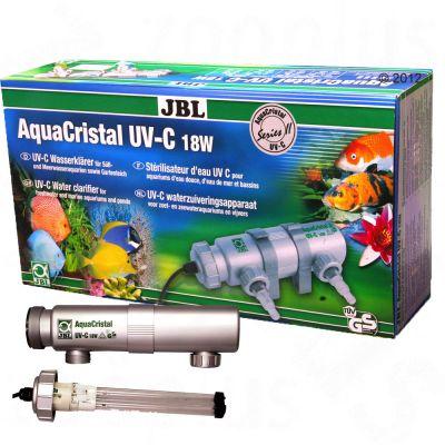 JBL AquaCristal UV-C Water Clarifier Series II - 9 watt filter