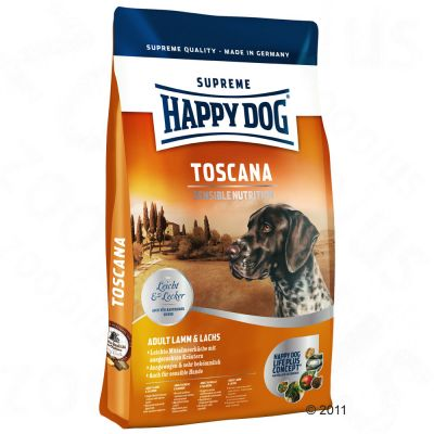Happy Dog Supreme Toscana Hundefutter - 4 kg