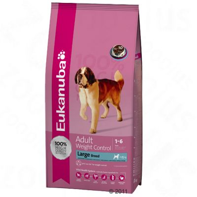 Eukanuba Adult Large Breeds Weight Control - Economy Pack: 2 x 15 kg
