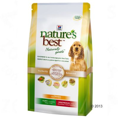 Hill's Nature's Best Puppy Mini/Medium - Chicken - Economy Pack: 2 x 12kg