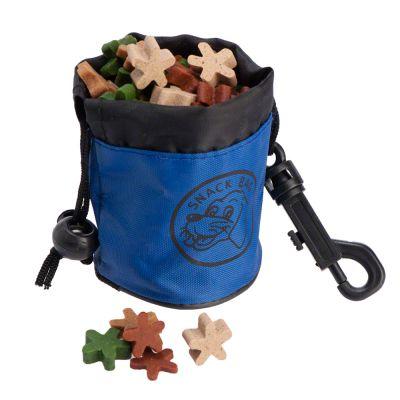 Pochette à friandises pour chien Snack Bag - L 6,5 x H 7 cm (rouge)