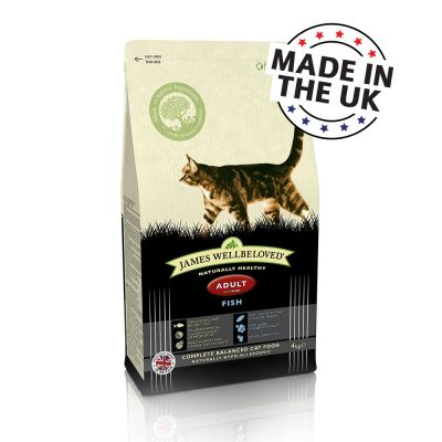 James Wellbeloved Adult Cat - Fish - 4kg