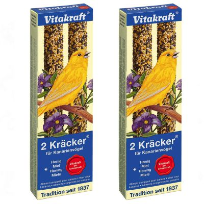 Vitakraft Nostalgia Crackers - Canaries - 2 x 2 crackers